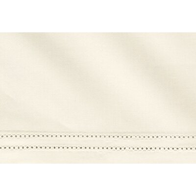 Virtuoso 600 Thread Count Egyptian-Quality Cotton Fitted Sheet Size: Queen, Color: Ivory