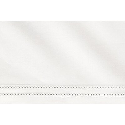 Virtuoso 600 Thread Count Egyptian-Quality Cotton Fitted Sheet Size: Queen, Color: White