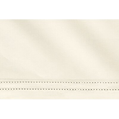 Virtuoso 600 Thread Count Flat Sheet Size: Queen, Color: Ivory