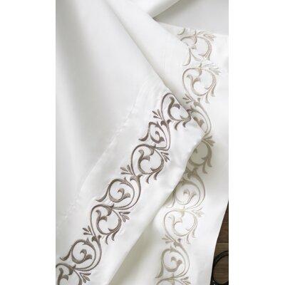 Dolce Pillowcase Color: Linen, Size: Standard