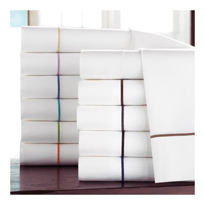 Boutique Pillowcases Color: Flint, Size: Standard