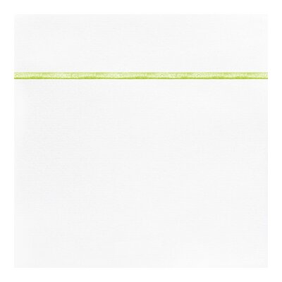 Boutique 200 Thread Count 100% Cotton Flat Sheet Size: Twin, Color: Sea Glass
