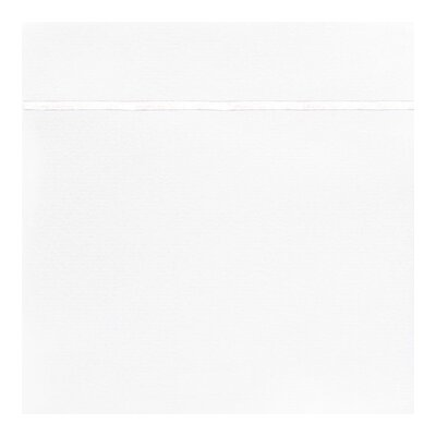 Boutique 200 Thread Count Flat Sheet Color: White, Size: Twin XL