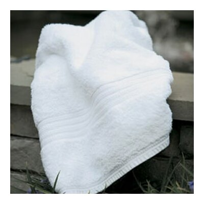 Fanfare Bath Towel Color: White