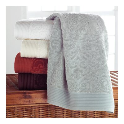 Park Avenue Wash Cloth (Set of 2) Color: White