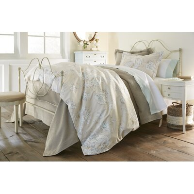 Flora Duvet Cover Size: Queen