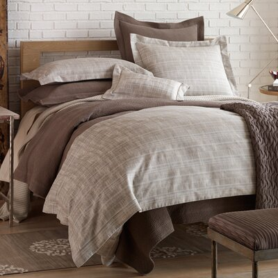 Biagio Duvet Set Color: Linen, Size: Queen