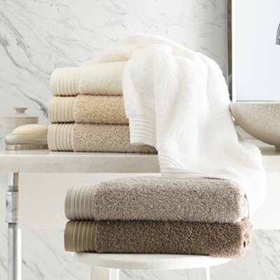 Rayon from Bamboo Basic Cotton Bath Towel Color: Ivory
