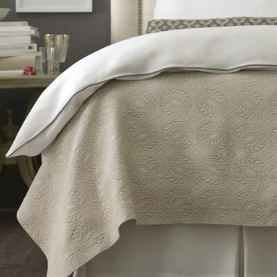 Vienna Sham Color: White, Size: King Tailored