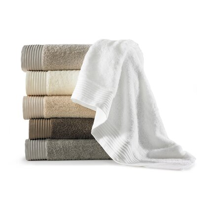 Rayon from Bamboo Basic Cotton Bath Towel Color: White