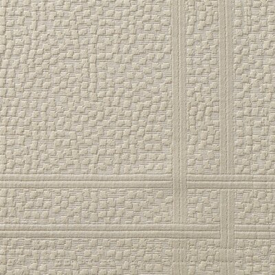 Montauk Sham Size: King, Color: Linen