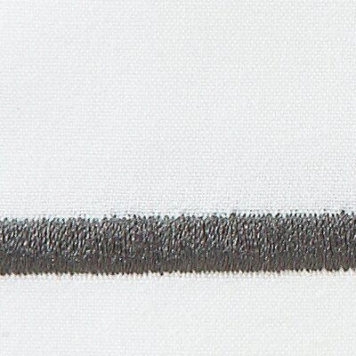 Concerto Pillow Case Size: King, Color: Graphite
