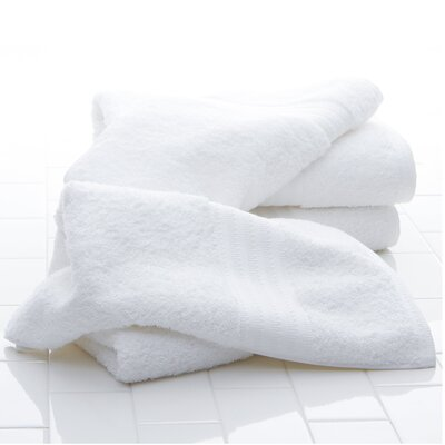 Fanfare Washcloth Color: White