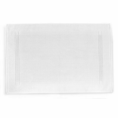 Jubilee Bath Rug Color: White