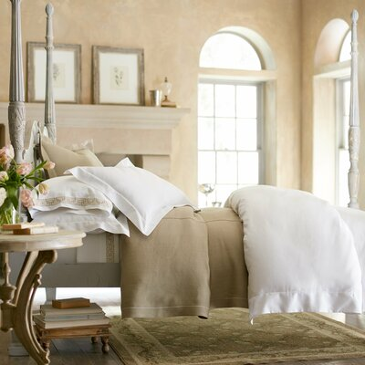 Soprano Pillow Case Size: King, Color: Linen