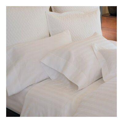 Duet Tailored Sham Size: King, Color: White