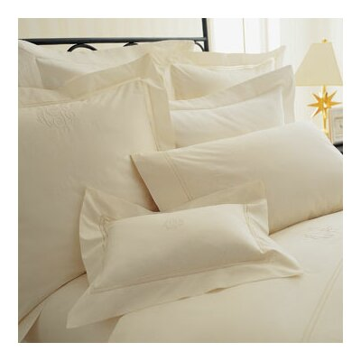 Lyric Duvet Set Size: King, Color: Ivory