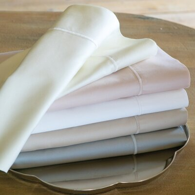 Soprano Pillowcase Size: Standard, Color: Platinum