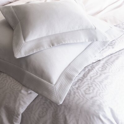 Angelina Coverlet Size: California King, Color: White