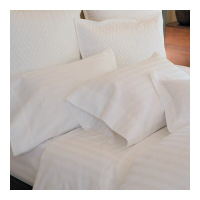 Duet Pillow Case Size: King, Color: White