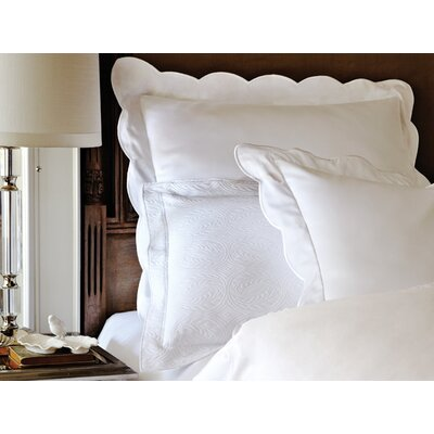 Overture 300 Thread Count Pillow Case Size: Standard, Color: White