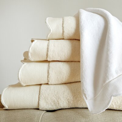 Overture Wash Cloth Color: White
