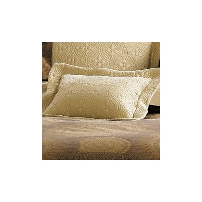Lucia Sham Size: King, Color: Champagne