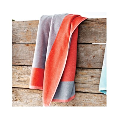 Soleil Beach Towel Color: Coral