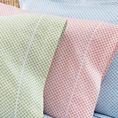 Emma 300 Thread Count Pillowcase Size: King, Color: Aqua