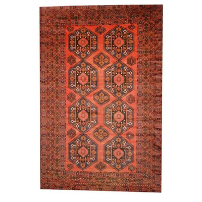 Barlowe Rust/Ivory Indoor/Outdoor Area Rug