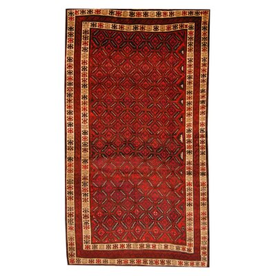 Barlowe Red/Ivory Indoor/Outdoor Area Rug
