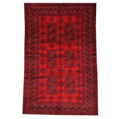 Barlowe Black/Red Area Rug