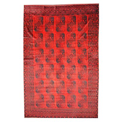 Balouchi Red/Navy Area Rug
