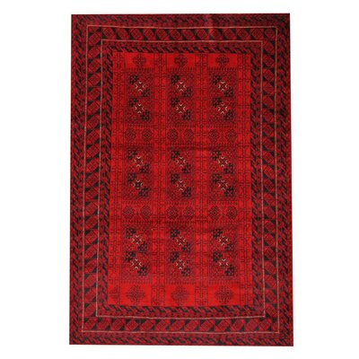 Barlowe Red/Black Area Rug