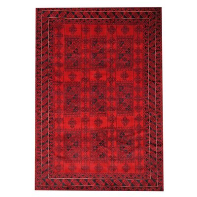 Barlowe Red/Black Indoor/Outdoor Area Rug