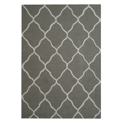 Hand-Tufted Gray/Ivory Indoor Area Rug