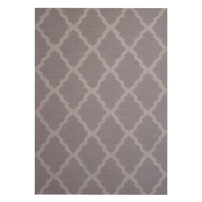 Hand-Tufted Beige/Gray Indoor Area Rug