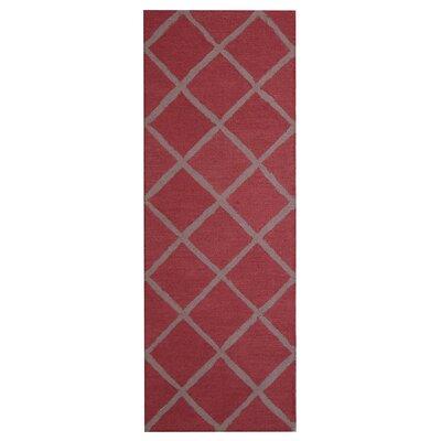 Hand Tufted Pink Indoor Area Rug