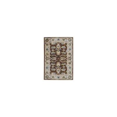 Hand Tufted Wool Brown/Beige Area Rug