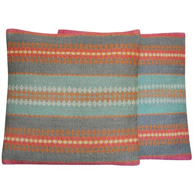 Flat Weave Throw Pillow