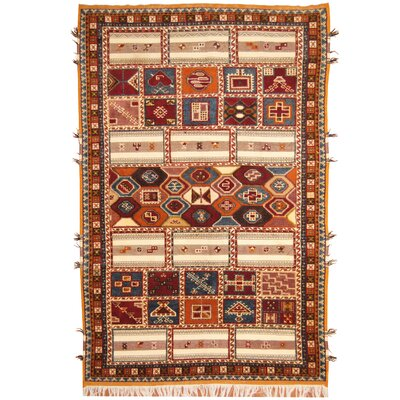 Hand-Knotted Area Rug