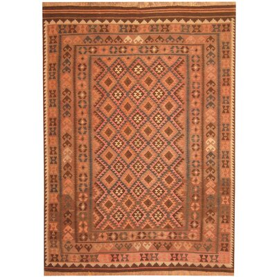 Hand-Woven Beige/Light Brown Area Rug