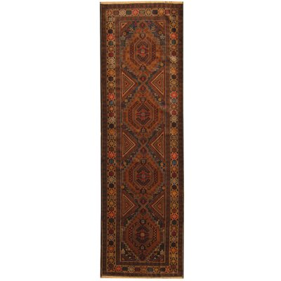 Barlowe Tribal Balouchi Hand-Knotted Navy/Gold Area Rug