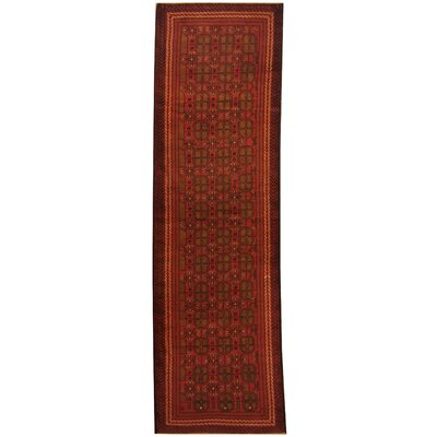 Balouchi Tribal Balouchi Hand-Knotted Semi-Antique Red/Ivory Area Rug
