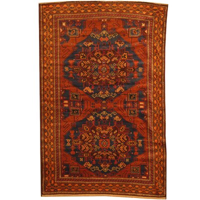 Balouchi Tribal Balouchi Hand-Knotted Navy/Rust Area Rug