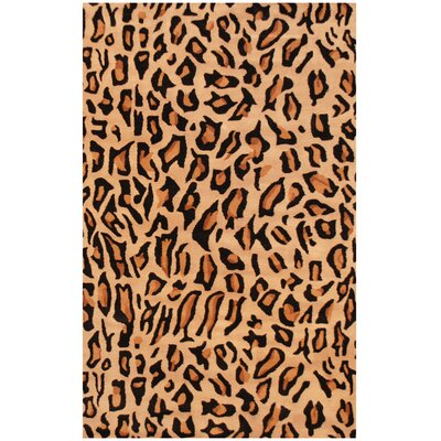 Hand-Tufted Animal Print Area Rug