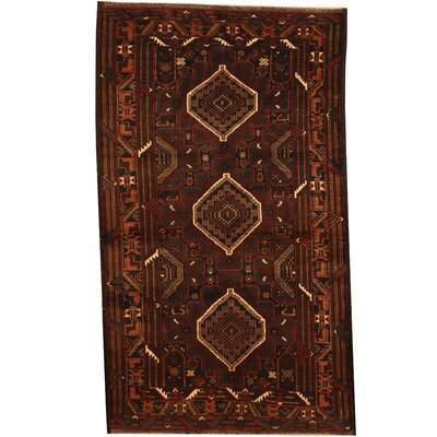 Barlowe Hand-Knotted Brown/Ivory Area Rug