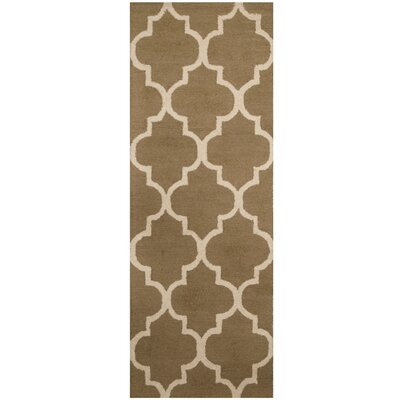 Hand-Tufted Gray/Ivory Area Rug
