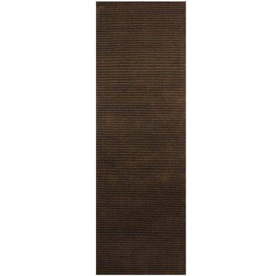 Hand-Tufted Dark Gray Area Rug