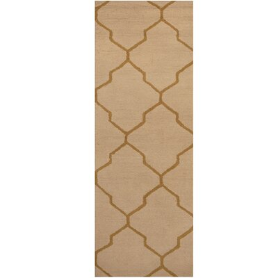 Hand-Tufted Beige/Light Brown Area Rug